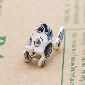 The Little Mermaid Flounder Charm - KHAISTA