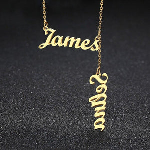 Two Name Personalized Necklace - KHAISTA