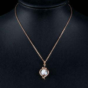 Water Drop Pendant Necklace KPN0173 - KHAISTA Fashion Jewellery