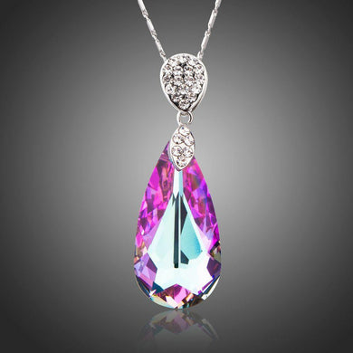 Water Drop Pendant Necklace of Love - KHAISTA Fashion Jewellery
