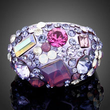 Load image into Gallery viewer, Wedding Occasion Crystal Ring for Ladies - KHAISTA Fashion Jewellery