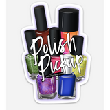 Polish Pickup Logo Bottles Magnet