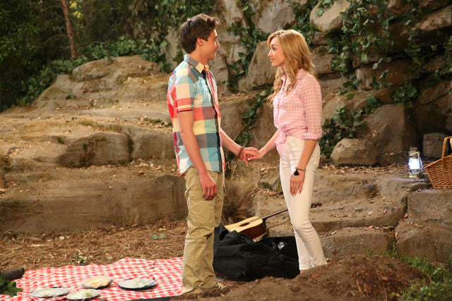Xander & Emma Go on Their First Date on Bunk'd (Photos)