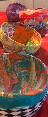 Art Barn Textile Bowl Box