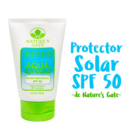 Protector Solar SPF 50 - Natures Gate