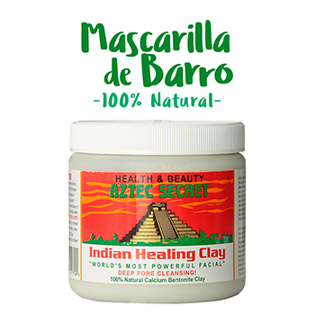 Mascarilla de Barro 100% Natural