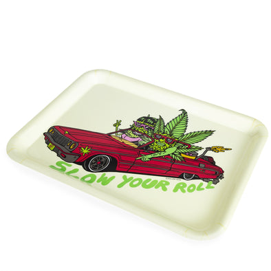 420 Science x Killer Acid Rolling Tray - Slow Your Roll - a Rolling Trays, from Killer Acid - find at 420Science.com