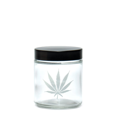 Medium Clear Screw-Top Jar