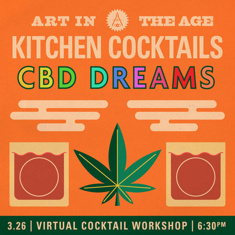 Kitchen Cocktails - March: CBD Dreams