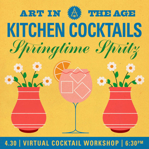 Kitchen Cocktails - April: Springtime Spritz