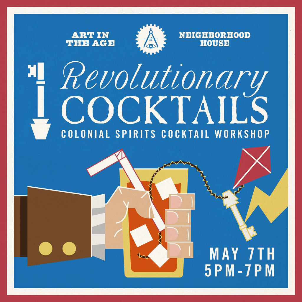 Revolutionary Cocktails Workshop at Christ Church Burial Ground