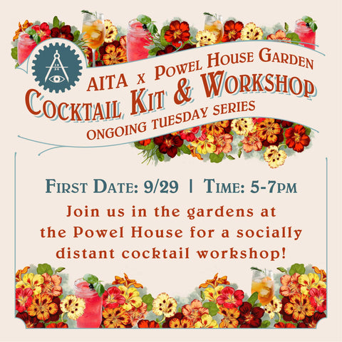 Garden Cocktail Kit & Workshop 9/29