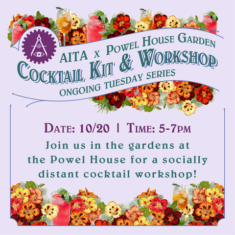 Garden Cocktail Kit & Workshop 10/20