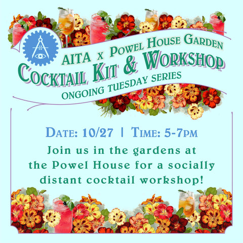 Garden Cocktail Kit & Workshop 10/27