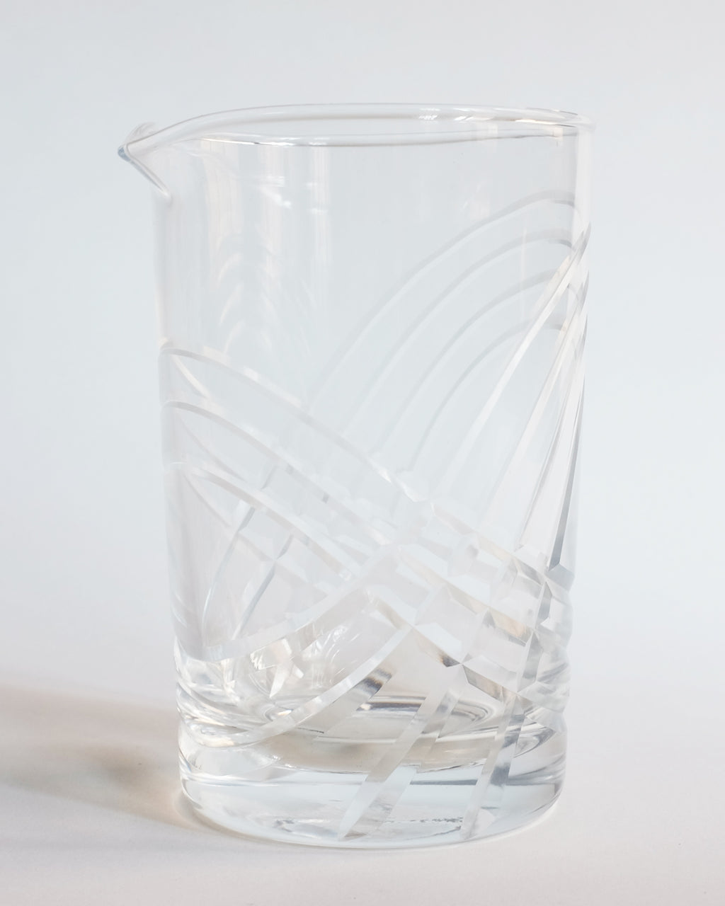Mach 3 Mixing Glass