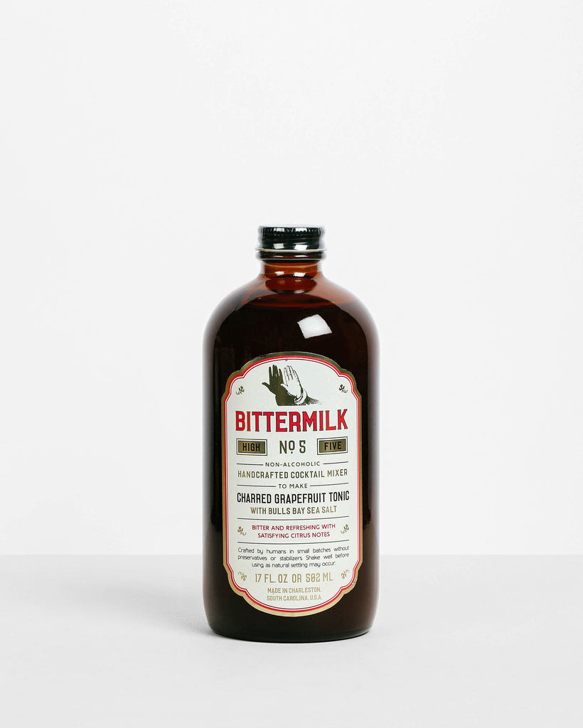 Bittermilk - No. 5  Charred Grapefruit Tonic with Bulls Bay Sea Salt