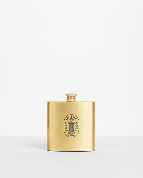 AITA Brass Flask