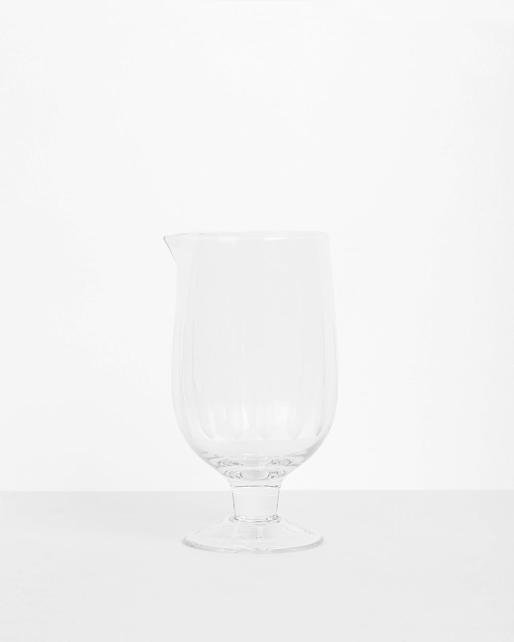 Etched Mixing Glass