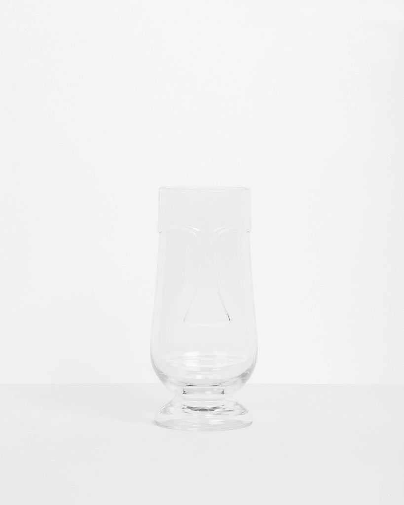 Clear Tiki Face Glass - 20oz