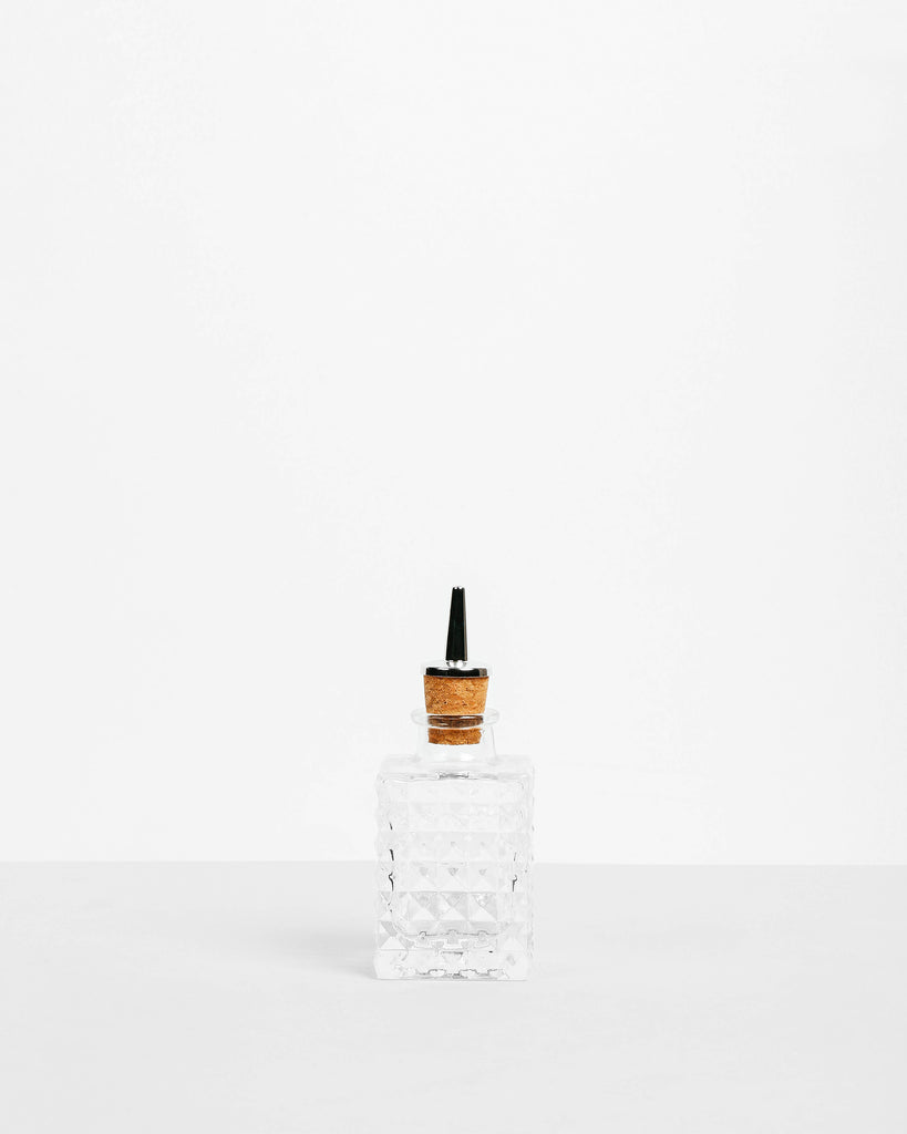 Crystal Bitters Bottle