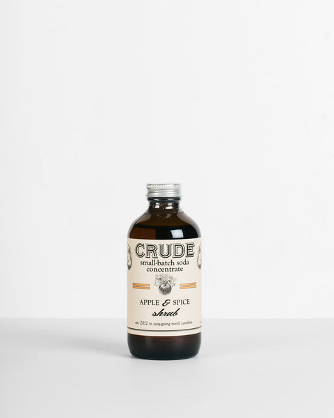 Crude - Apple & Spice Shrub