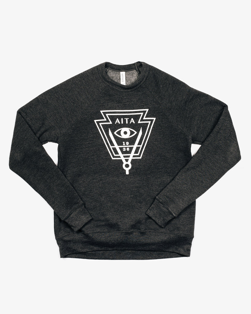 Inverted Keystone Crew Neck Sweatshirt