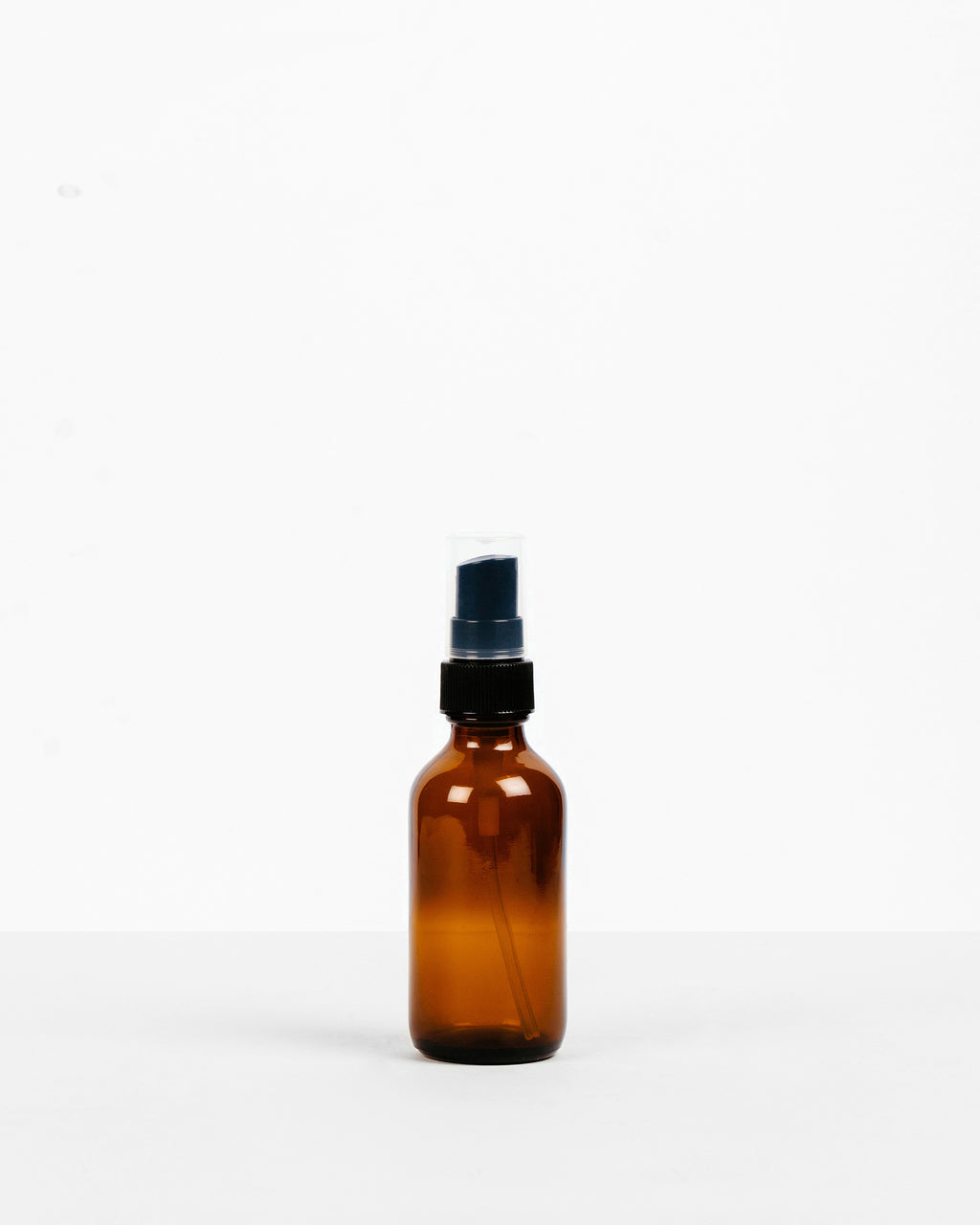 Amber Glass Spray Bottle - 2oz