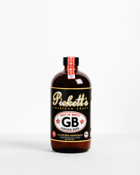 Pickett's Ginger Beer Syrup - Hot N' Spicy
