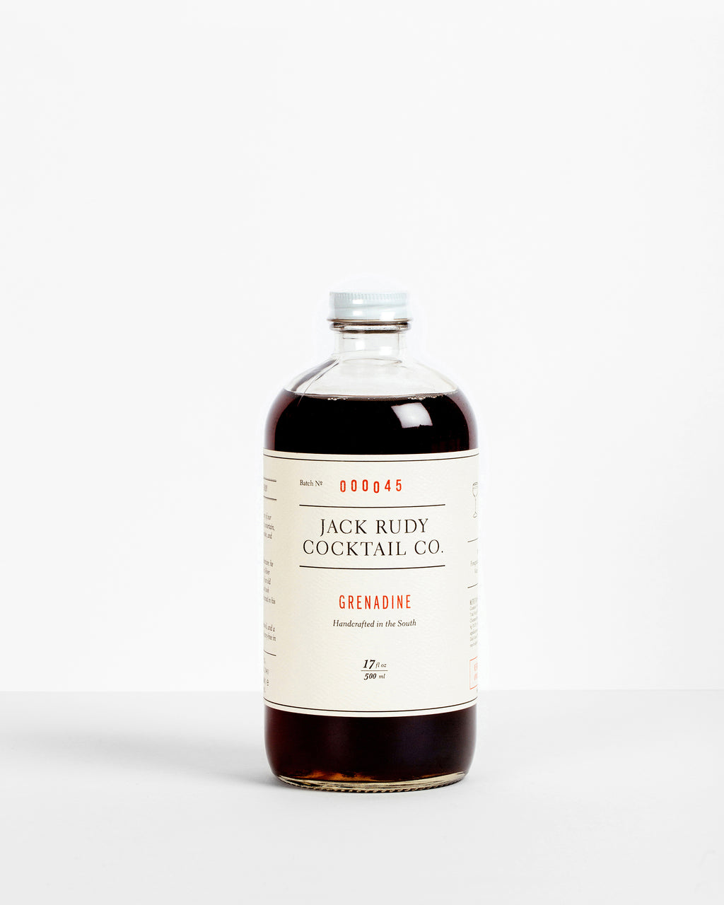 Jack Rudy - Small Batch Grenadine