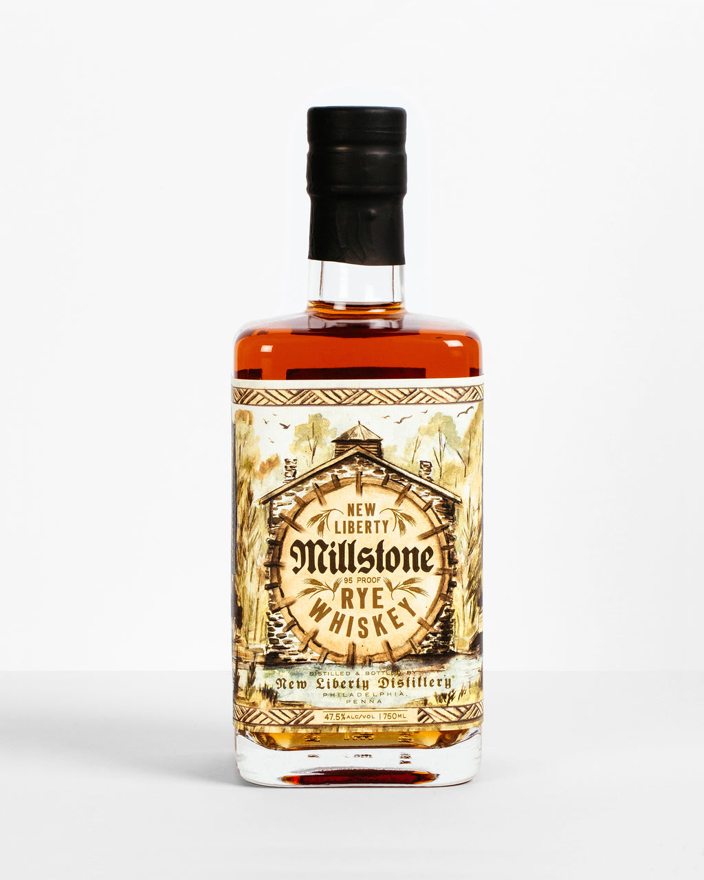 New Liberty Distillery Millstone Rye Whiskey