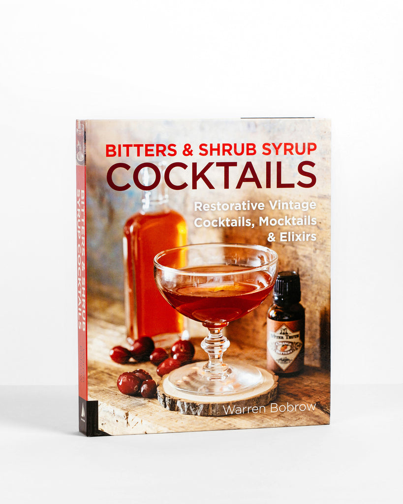 Bitters and Shrub Syrup Cocktails