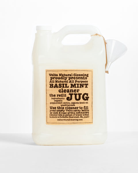 Basil Mint Cleaner Jug Refill