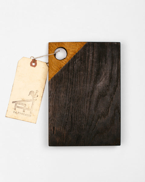 Farmhaus - Black Serving Board
