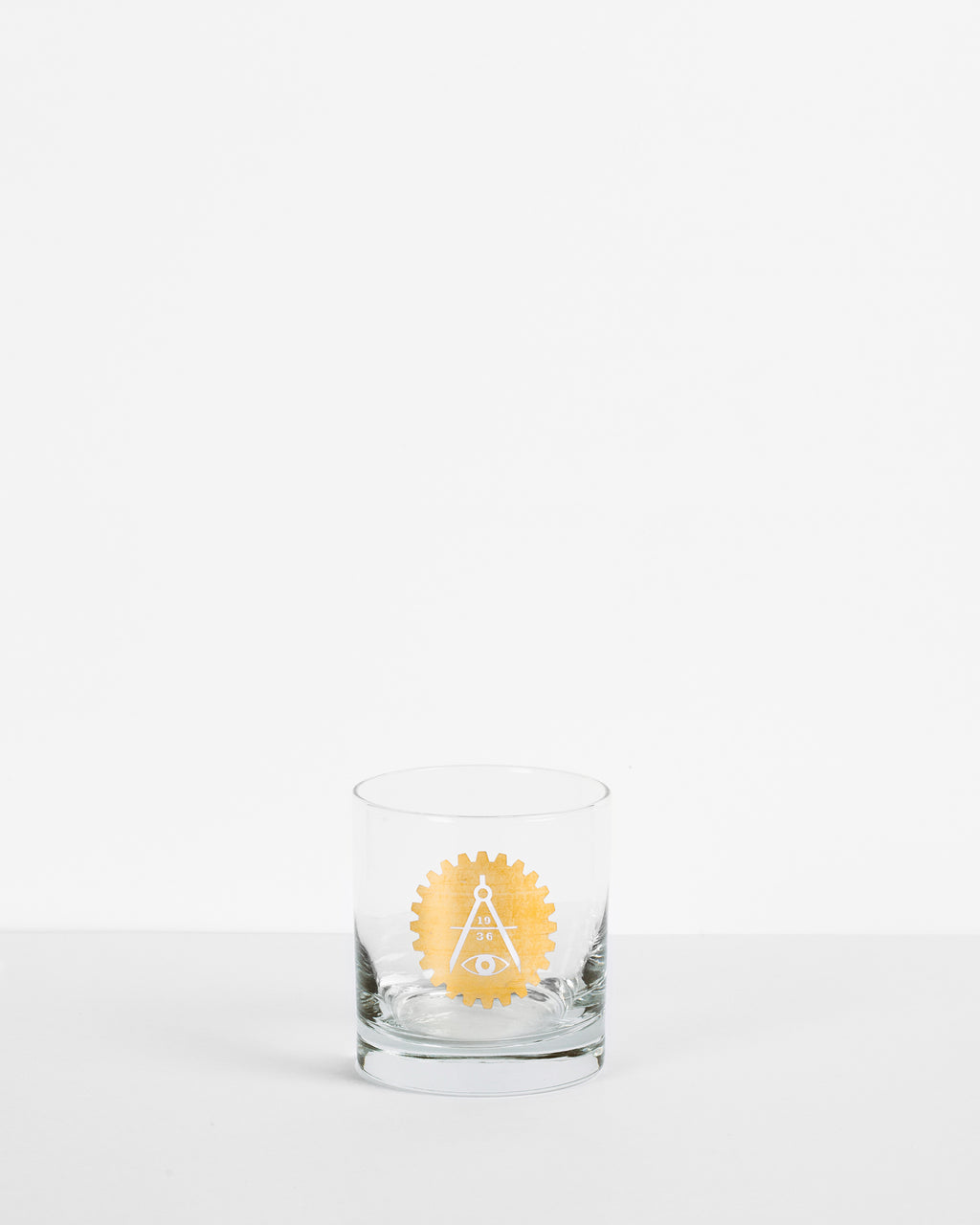 AITA Gold Foil Rocks Glass