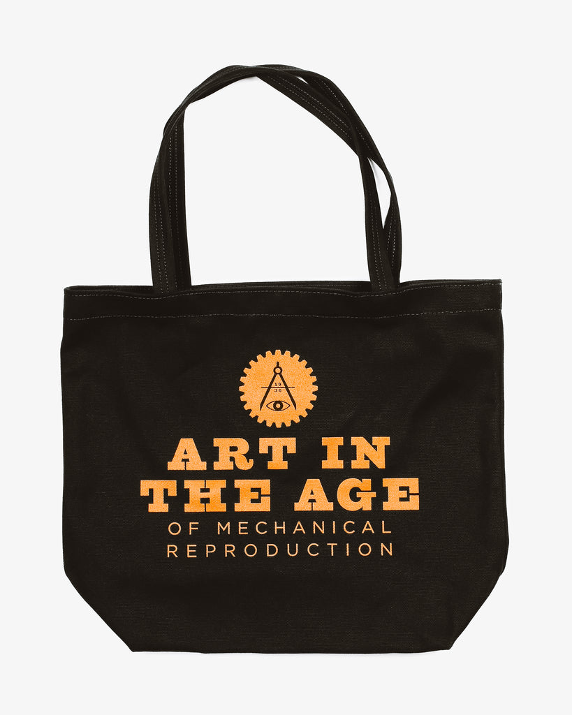 AITA Tote Bag - Black Block Print Logo