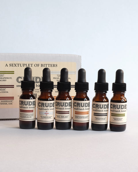 Crude Bitters Sampler Set