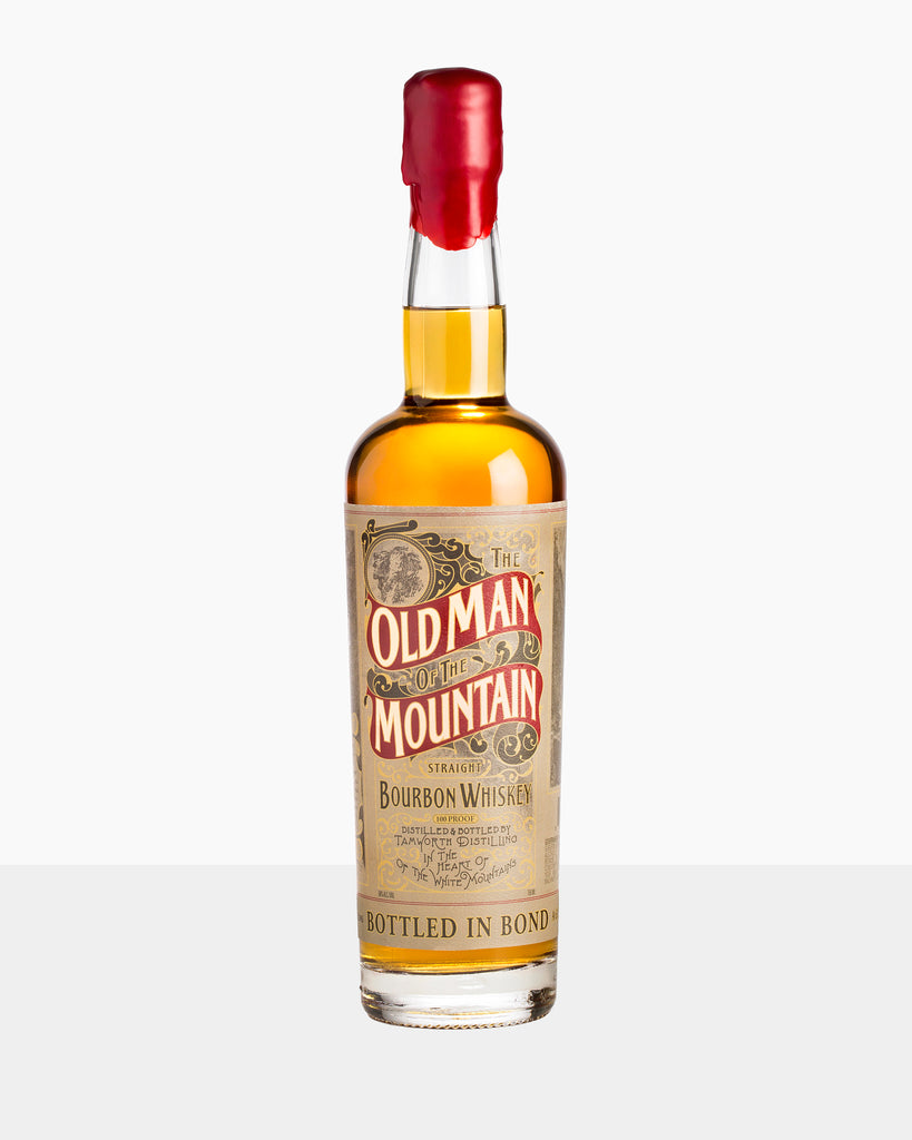 Tamworth Distilling The Old Man of the Mountain Bottled in Bond Bourbon