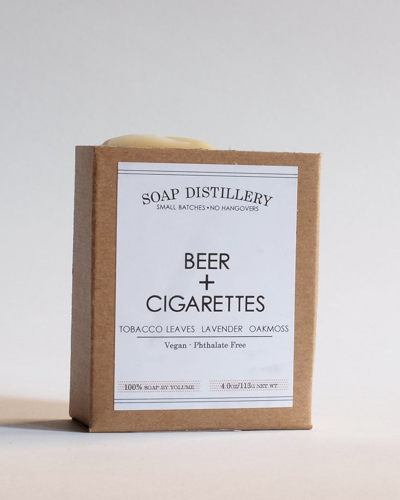 Beer + Cigarettes Soap