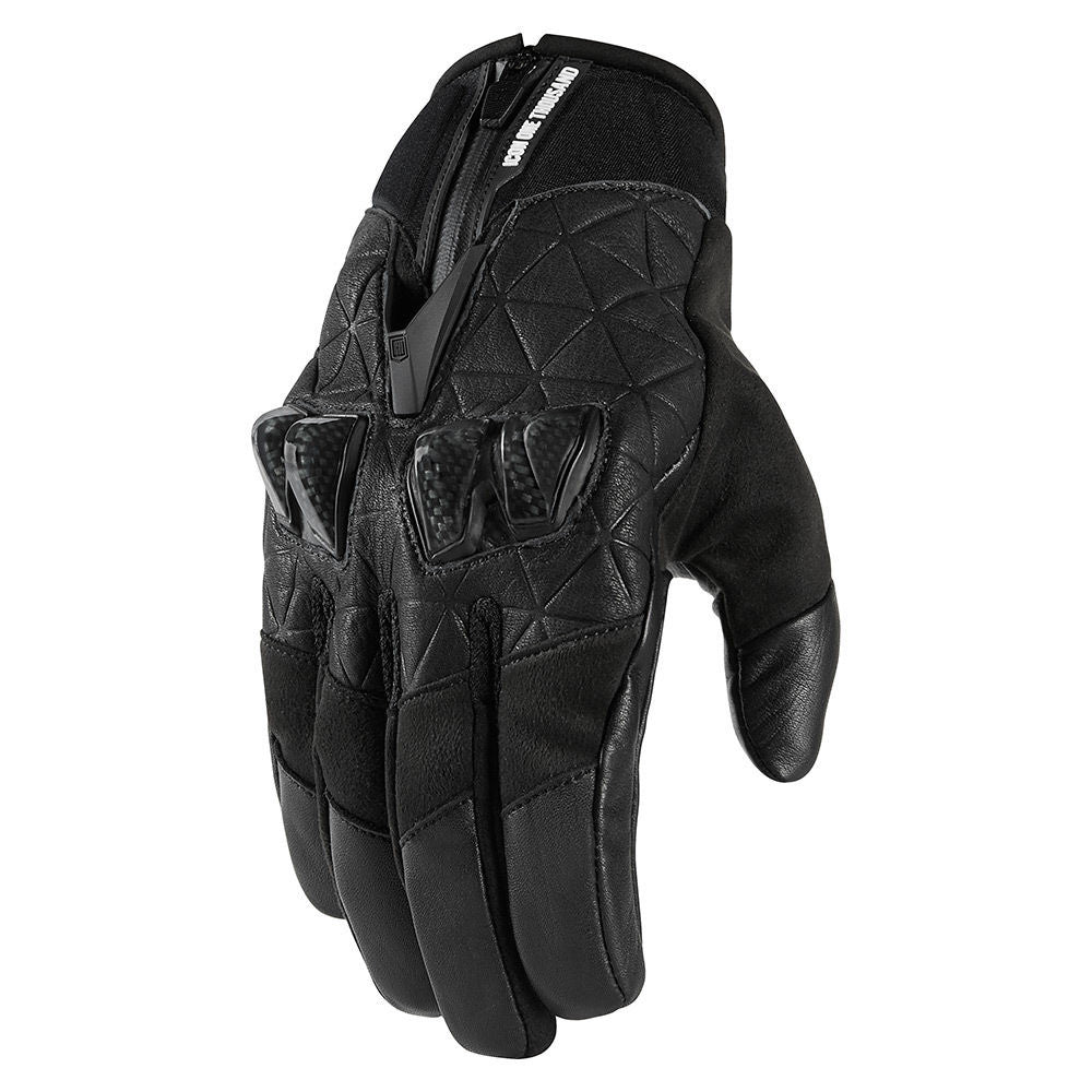 ICON 1000 AKROMONT GLOVES - BLACK