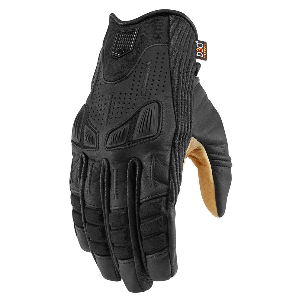 ICON 1000 AXYS GLOVES- BLACK