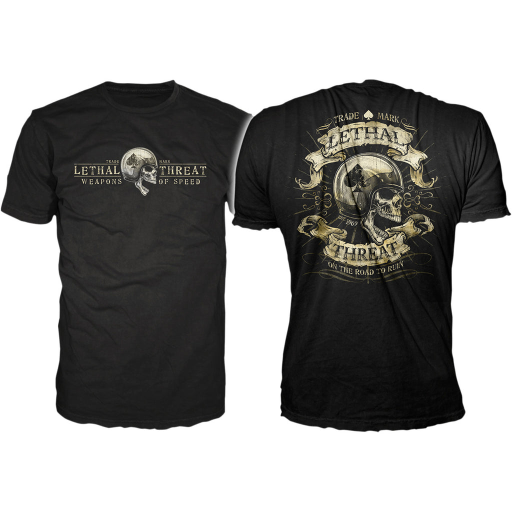 Lethal Threat Road to Ruin Men's T-shirt
