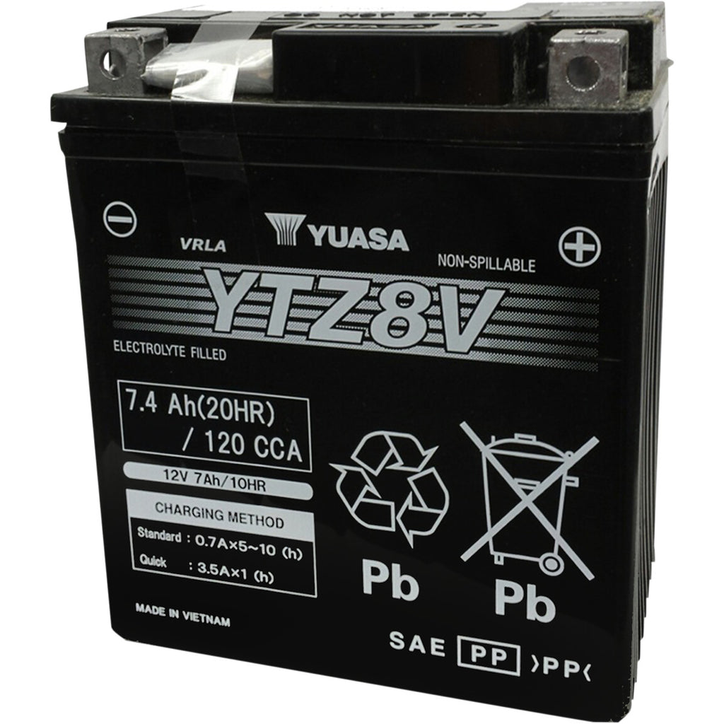 Yuasa Battery YTZ Factory Activated AGM Maintenance Free Batteries