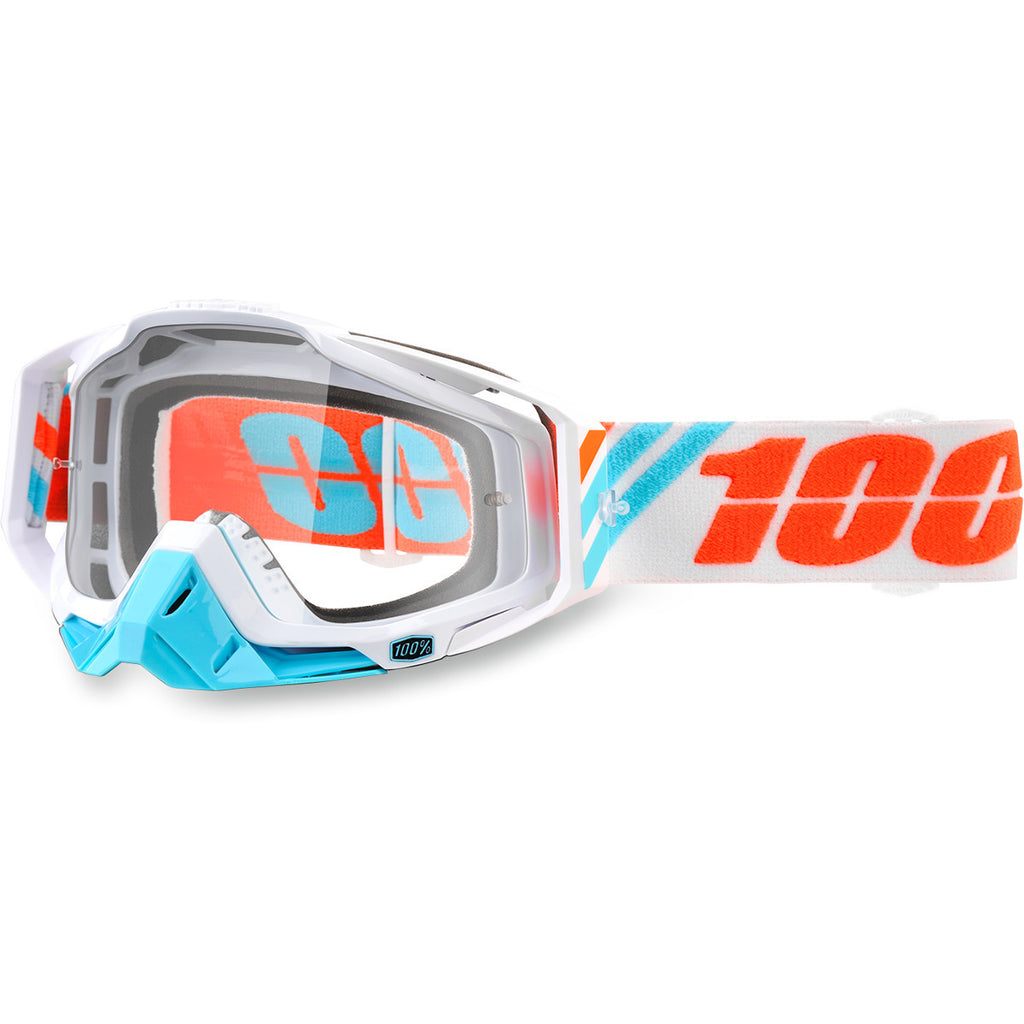 100% Racecraft Goggles Clear Lens