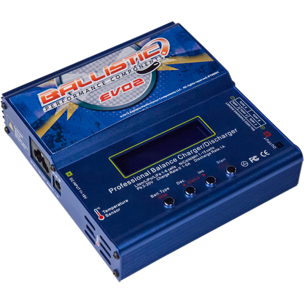 Ballistic Performance Evo Pro Battery Management System (BMS) Charger