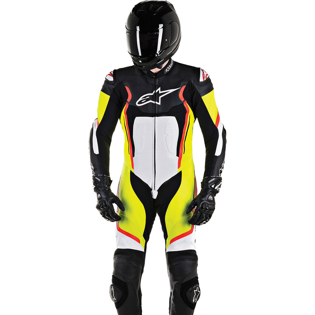 AlpineStars Motegi One Piece Leather Suit v2
