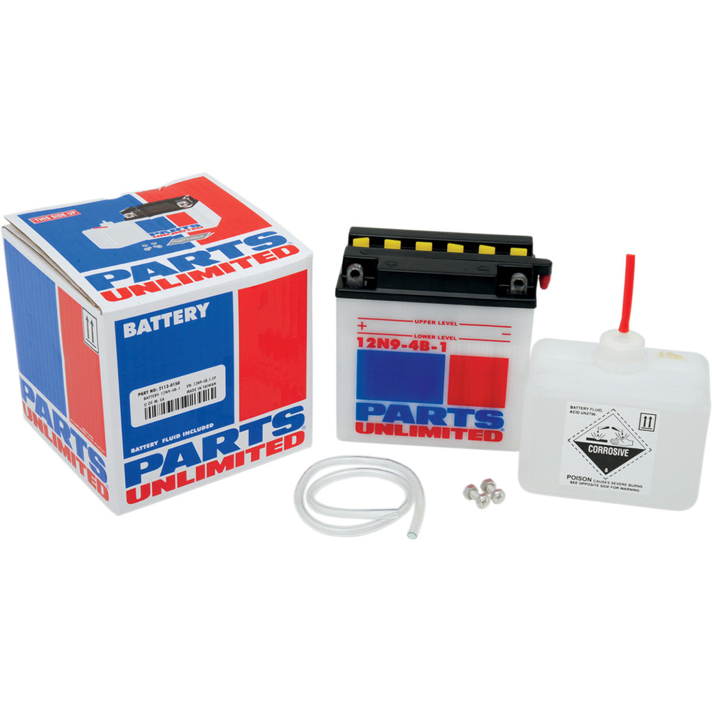Parts Unlimited Conventional Batteries and Battery Kits