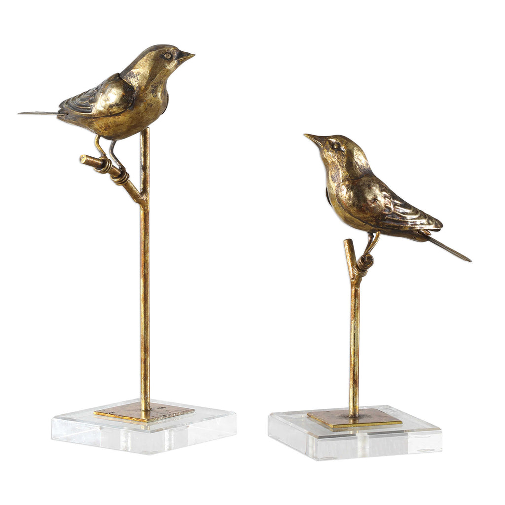 Passerines Figurines - Set of 2 - dolly mama boutique