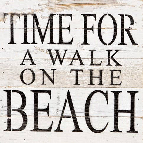 Walk On The Beach Sign - dolly mama boutique