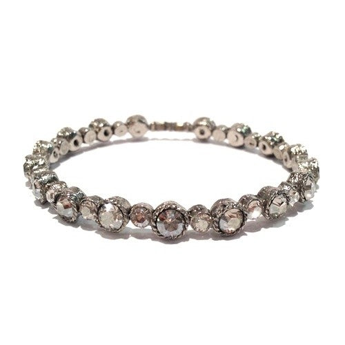 Seasonal Whispers Crystal Bling Bracelet - dolly mama boutique