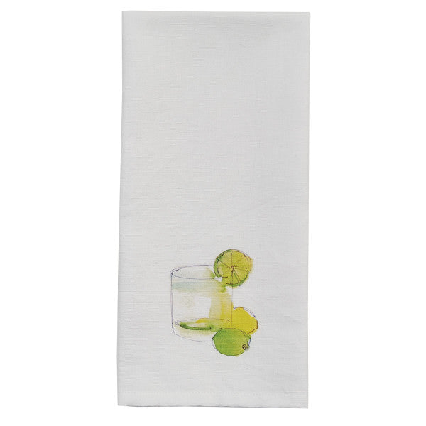 Tropical Drink Towel - Gin and Tonic - dolly mama boutique